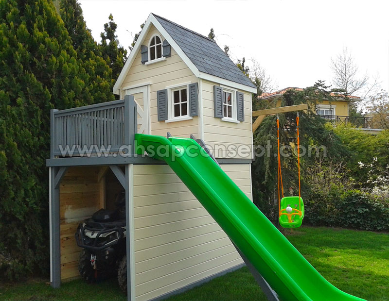 çocuk evi, oyun evi, ahşap çocuk evi, play house