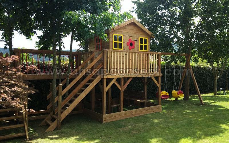 Çocuklarınıza Özel Oyun Evleri Üretiyoruz